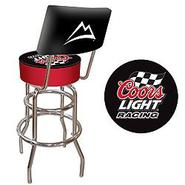 Trademark Coors Light Racing Padded Bar Stool with Back at Kmart.com