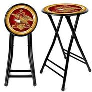 Trademark Anheuser Busch A & Eagle 24 Inch Cushioned Stool - Black at Kmart.com