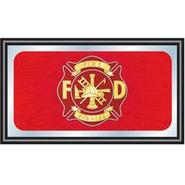 Trademark Fire Fighter Wood Framed Mirror BIG 15 x 26 inches at Kmart.com