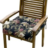 Greendale Home Fashions 20 inch Outdoor Chair Cushion, Azalea Black at Kmart.com