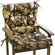Greendale Home Fashions Outdoor Seat/Back Chair Cushion, Sykworks Russett at Sears.com