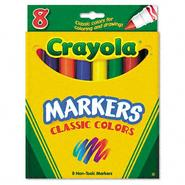 Crayola Classic Colors Non-Washable Marker at Kmart.com