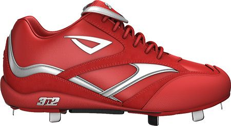 Men's Showtime Lo - Red/Silver