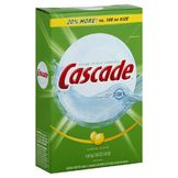 Cascade Dishwasher Detergent, Lemon Scent 120 oz (3.40 kg) 7.50 lb at mygofer.com