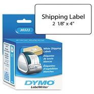 DYMO Self-Stick Shipping Labels, 4 x 2-1/8, W, 220/Box at Sears.com