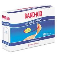 Band-Aid Flexible Fabric Adhesive Bandages,1x3, 100 per Box at Kmart.com