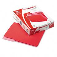 Pendaflex Letter File Folders, 1/3 Cut Top Tab, Red, 100/Box at Kmart.com