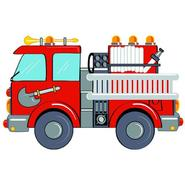 "Fun Time Shape Fire Engine Size: 31"" x 47"" at Kmart.com"