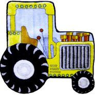 "Fun Time Shape Tractor Size: 31"" x 31"" at Kmart.com"