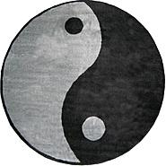 "Fun Time Shape Ying Yang Size: 51"" Round at Kmart.com"
