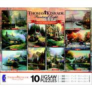 CEACO Thomas Kinkade Collector's Edition 10 In 1 Puzzle - Painter of Light at Kmart.com
