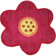 "Fun Time Shape Pink Poppy Size: 39"" x 39"" at Kmart.com"