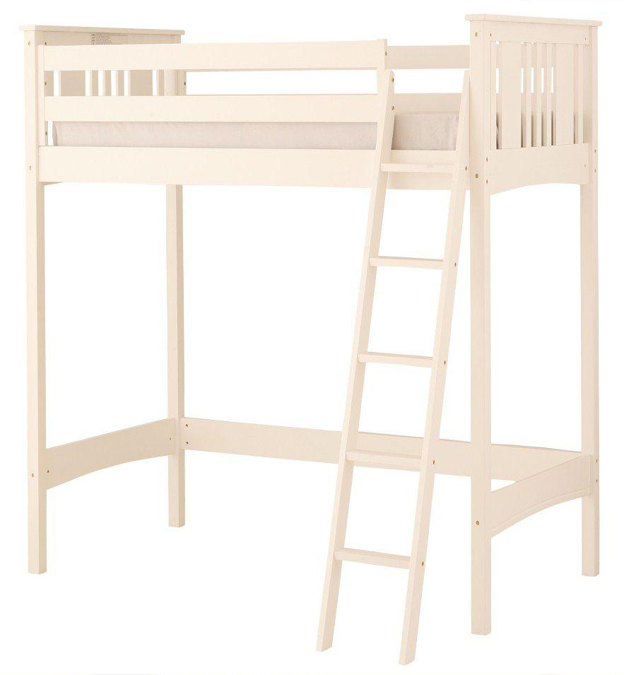 Base Camp Loft Bed - White