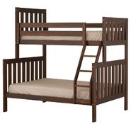 Canwood Alpine II Twin over Full Bunk Bed with Ladder/Guard Rail - Cherry at Kmart.com