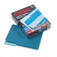 Pendaflex 1/3 Cut Top Tab Letter File Folders, Teal, 100/Box at Kmart.com