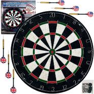 Trademark Games Pro Style Bristle Dart Board Set w/ 6 Darts & Board at Kmart.com