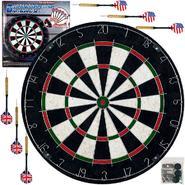Trademark Games Pro Style Bristle Dart Board Set w/ 6 Darts & Board at Kmart.com