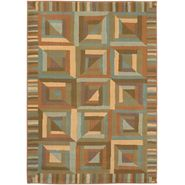 "Shaw Living Reverie Rug Collection 7'8""x10'9"" Kaleidoscope - Auburn at Kmart.com"