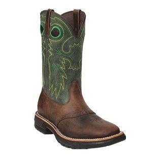 Rocky Men s Original Ride Steel Toe Western Boot 11