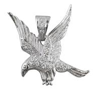 Men's Cubic Zirconia Eagle Stainless Steel Pendant at Sears.com