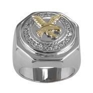 Men's Eagle Ring in Sterling Silver at Kmart.com