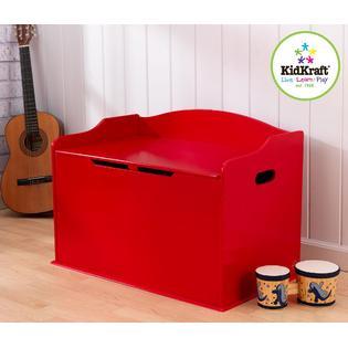 KidKraft Austin Toy Box-Red