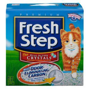 Plus Dual Crystals Cat Litter 25 Pound Box