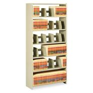 Tennsco Steel Open 6-Shelf Starter Set, 36 x 12 x 76, Sand at Kmart.com