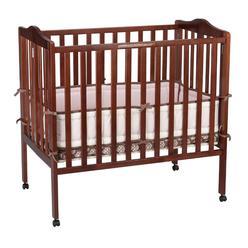 Delta Children Fold Away 3-in-1 Portable Crib, Cherry at Kmart.com