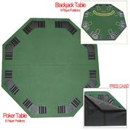 Trademark Games Deluxe Poker & Blackjack Table Top w/ Case at Kmart.com