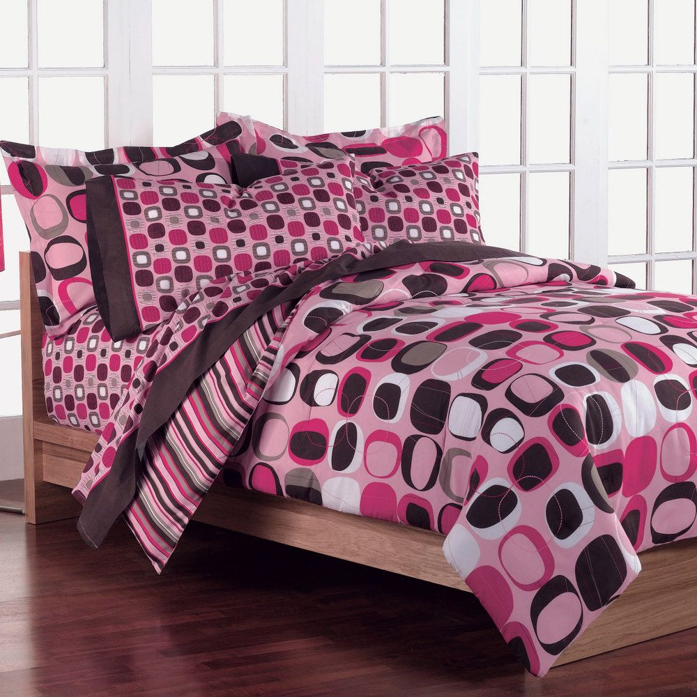 CHF  Opus Pink Twin Mini Comforter Set