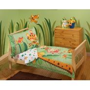 Fisher-Price Rainforest 4 Piece Toddler Bedding Set at Kmart.com