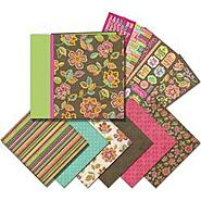 "K&Company Mega Scrapbook Kit 12""X12""-Pink/Brown at Sears.com"