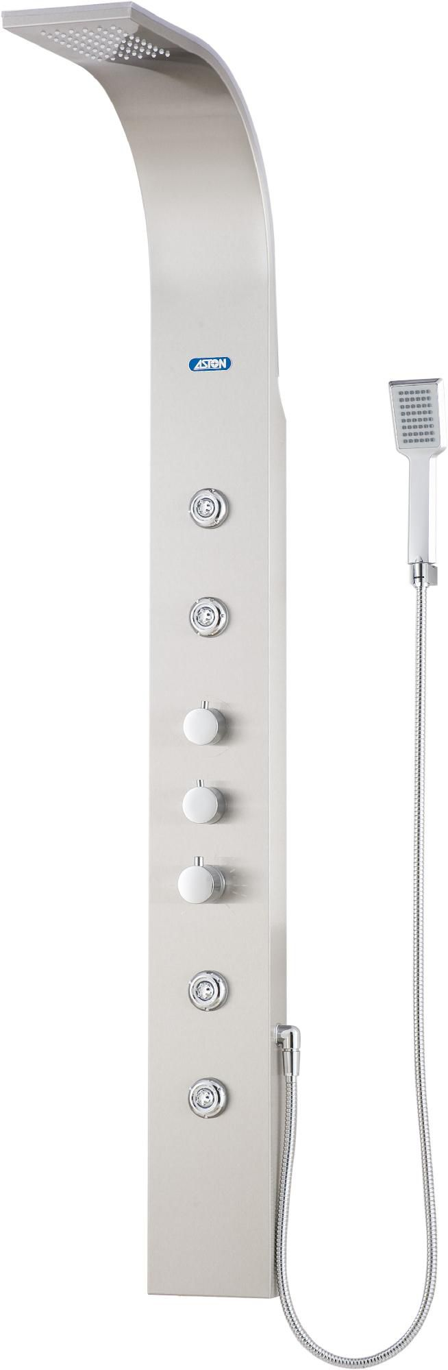 Aston  Stainless Steel 4-Jet Shower Panel