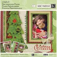 "K&COMPANY-Simply K Pre-Designed Pages 12""X12"" 2/Pkg-Christmas Cheer at Sears.com"