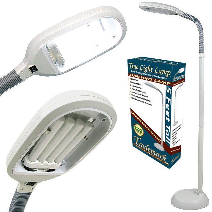 Trademark Global Sunlight 5\' Floor Lamp