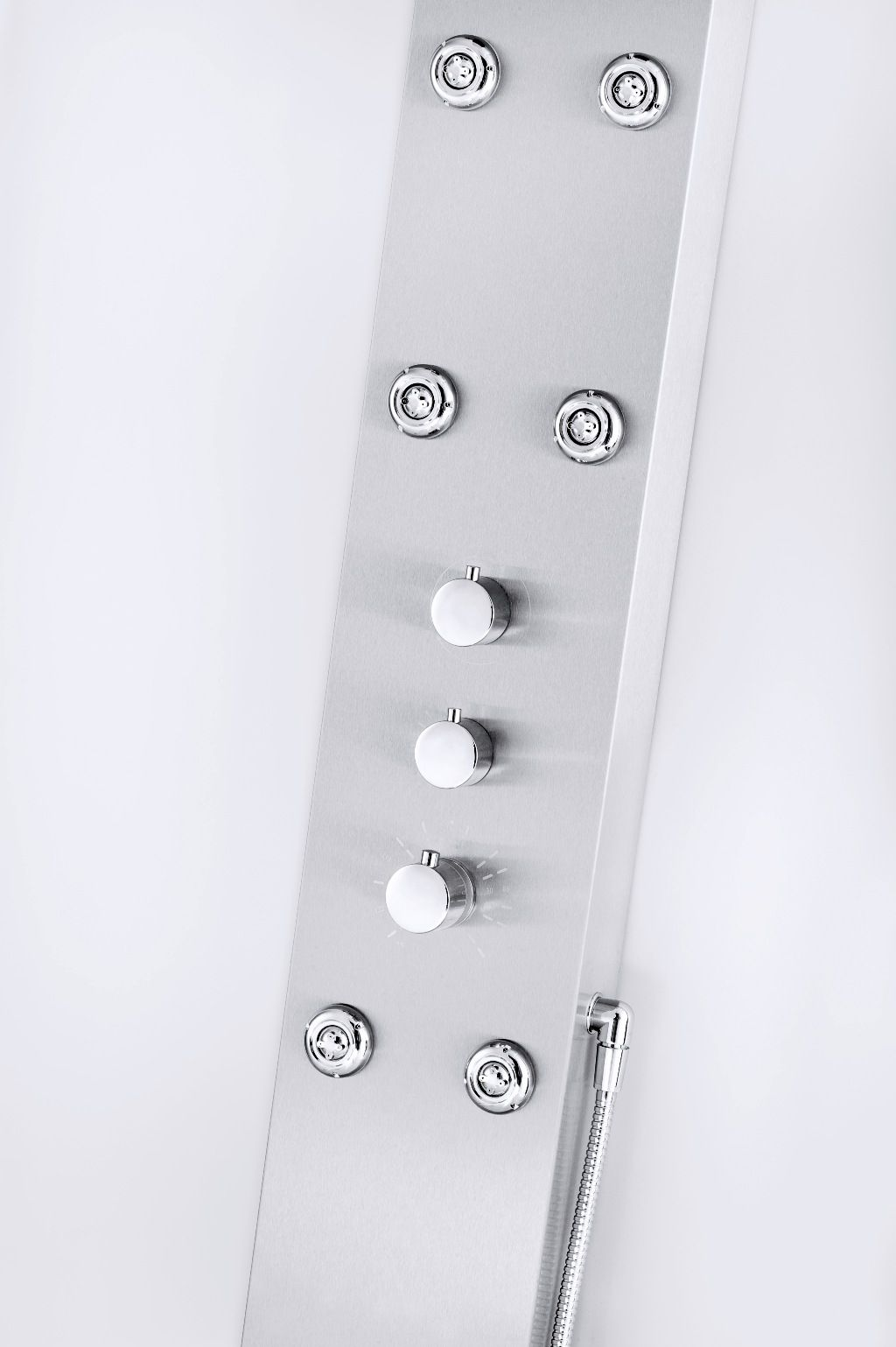 Stainless Steel 6-Jet Shower Panel                                                                                               at mygofer.com