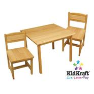 KidKraft Aspen 2 Chair Set-Natural at Kmart.com