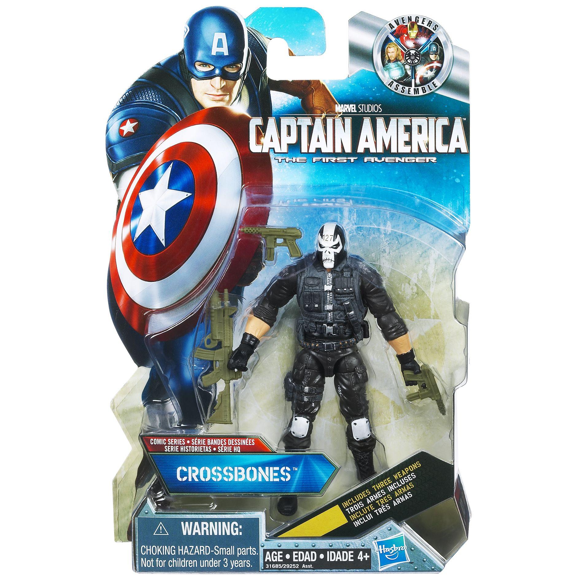 Disney Crossbones Marvel Captain America Action 3.75 Action Figure PartNumber: 004W003027446008P