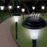 Trademark Tools Set of 8 Bright Solar Accent Lights - Cordless at Kmart.com