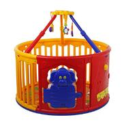 Dream On Me Deluxe Circuliar Play Yard with Jungle Gym at Kmart.com
