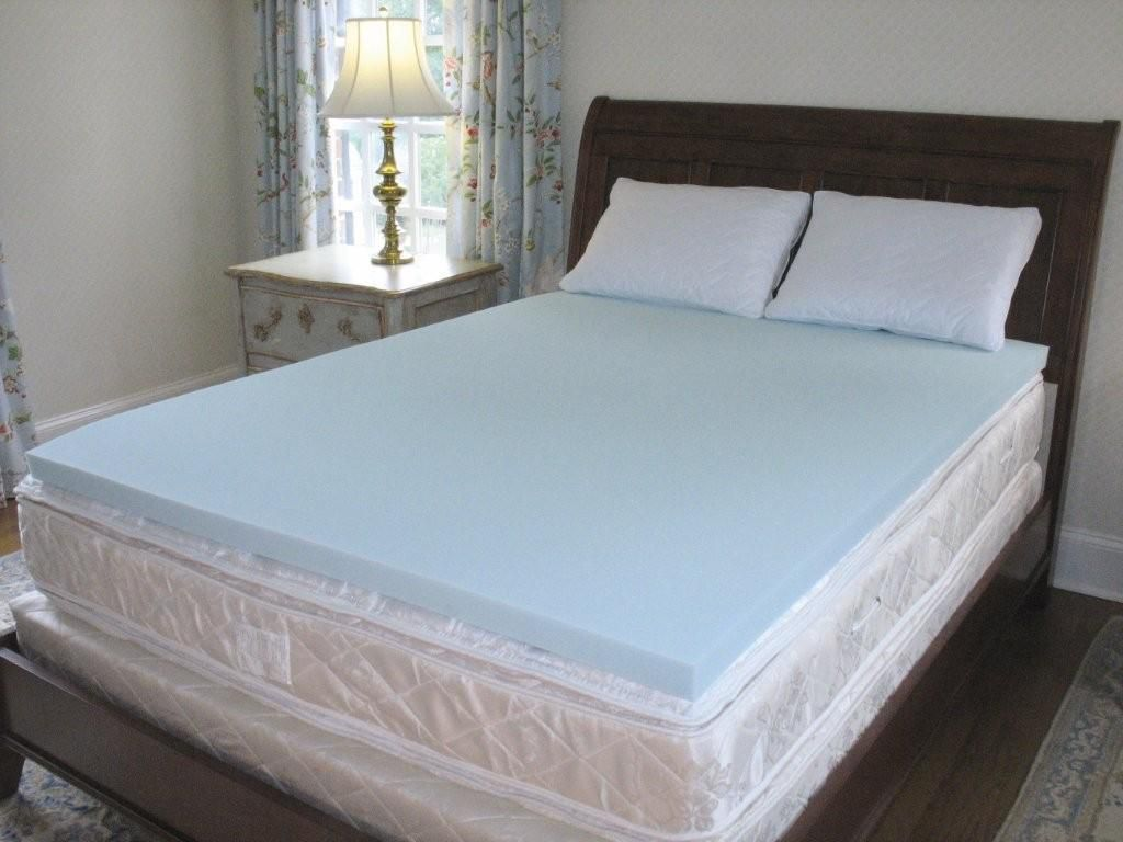 New Solid Polar Foam Cool Mattress Topper