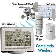 La Crosse Technology WS-2810U-IT Professional Weather Center with Solar Wind Sensor at Kmart.com