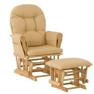 Stork Craft Hoop Glider & Ottoman - Natural/Butter at Kmart.com