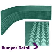 Trademark Poker Craps Diamond Pyramid Bumper Rubber - 4 foot strip at Kmart.com