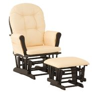 Stork Craft Hoop Glider & Ottoman - Black/Yellow Gingham at Kmart.com