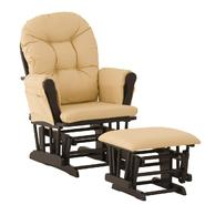 Stork Craft Hoop Glider & Ottoman - Black/Butter at Kmart.com