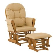 Stork Craft Hoop Glider & Ottoman - Oak/Butter at Kmart.com