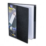 Cardinal Display Book with Wrap Pocket, 12 Sleeves, Black at Kmart.com