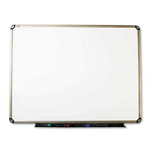 Quartet Porcelain/Steel Euro Dry-Erase Board, 48 x 36